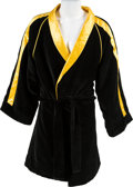 "Movie/TV Memorabilia:Costumes, A Boxing Robe from ""Rocky Balboa"" (aka ""Rocky VI"")...."