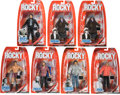"Movie/TV Memorabilia:Memorabilia, A Group of Jakks Collectible Action Figures Related to ""Rocky,""2006...."