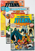 Modern Age (1980-Present):Superhero, New Teen Titans #1-15 Group (DC, 1980-81) Condition: Average VF....(Total: 15 Comic Books)