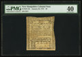 Colonial Notes:New Hampshire, New Hampshire January 26, 1776 $3 PMG Extremely Fine 40.. ...