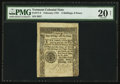Colonial Notes:Vermont, Vermont February 1781 2s/6d PMG Very Fine 20 Net.. ...