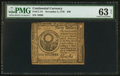 Colonial Notes:Continental Congress Issues, Continental Currency November 2, 1776 $30 PMG Choice Uncirculated 63 Net.. ...