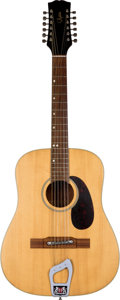 Musical Instruments:Acoustic Guitars, A Bjärton 12-String Acoustic Guitar Owned By Klaus Voormann andRingo Starr, And Played by John Lennon (Sweden, 1971)...