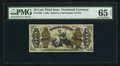 Fractional Currency:Third Issue, Fr. 1366 50¢ Third Issue Justice PMG Gem Uncirculated 65 EPQ.. ...