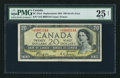 Canadian Currency: , BC-33aA $20 1954 Devil's Face Replacement. ...