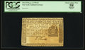 Colonial Notes:New York, New York September 2, 1775 $3 PCGS Apparent Choice About New 58.. ...