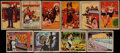 "Non-Sport Cards:Sets, 1935/36 Schutter-Johnson ""I'm Going To Be"" and ""Tarzan and TheVault of Isis"" Sets Pair. ..."