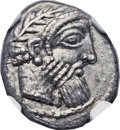 Ancients:Greek, Ancients: PHOENICIA. Aradus. Uncertain King. Ca. 380-350 BC. ARthird-stater or tetrobol (13mm, 3.40 gm, 4h)....