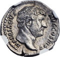 Ancients:Roman Imperial, Ancients: Hadrian (AD 117-138). AR denarius (20mm, 3.01 gm, 6h)....