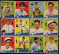 Baseball Cards:Sets, 1934 Goudey Baseball Partial Set (40/96) With HoFers and Hi Numbers. ...
