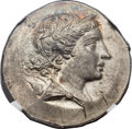 Ancients:Greek, Ancients: IONIA. Magnesia ad Meandrum. Ca. 155-145 BC. ARtetradrachm (34mm, 16.58 gm, 11h)....