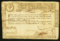 Colonial Notes:Massachusetts, Massachusetts Treasury Certificate January 1, 1780 Anderson MA-18Fine.. ...