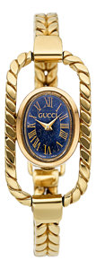Estate Jewelry:Watches, Gucci Lady's Gold Watch. ...