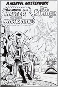 Original Comic Art:Covers, Bruce McCorkindale Marvel Collectors' Item Classics #10 Dr.Strange Pin-Up Recreation Original Art (2012)....