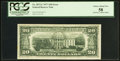 Fr. 2072-C $20 1977 Federal Reserve Note. PCGS Choice About New 58