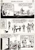 "Original Comic Art:Panel Pages, Murphy Anderson Strange Adventures #150 ""The Plant ThatHated Humans!"" Page 10 Atomic Knights Original Art (DC, 19..."