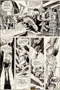Original Comic Art:Panel Pages, Bernie Wrightson Swamp Thing #3 Page 3 Patchwork ManOriginal Art (DC, 1973)....