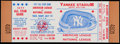 Baseball Collectibles:Tickets, 1977 MLB All-Star Game at Yankee Stadium Full Ticket....