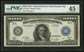 Large Size:Federal Reserve Notes, Fr. 1132-J $500 1918 Federal Reserve Note PMG Choice Extremely Fine 45 Net.. ...