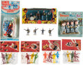 Music Memorabilia:Memorabilia, A Group of Eight Beatles Figure Sets In Original Packaging, Including Subuteo and Emirober Figures, (UK, Spain and Hong Kong, ...