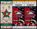 Baseball Collectibles:Tickets, 1993 & 2000 MLB All-Star Game Full Tickets Lot of 3....