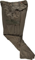 "Movie/TV Memorabilia:Costumes, A Pair of Cargo Pants from ""Rambo"" (aka ""Rambo 4"")...."