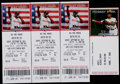 Baseball Collectibles:Tickets, 2014 Derek Jeter Final Game Ticket at Fenway Lot of 3....