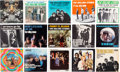 Music Memorabilia:Recordings, Rolling Stones Singles w/ Picture Sleeves Group of 15 (1960s).. ...