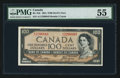 Canadian Currency: , BC-35b $100 1954 Devil's Face. ...