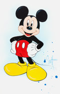 Animation Art:Production Drawing, Scott Westmoreland Mickey Mouse Illustration (Disney,2001)....