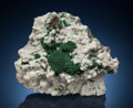 "Minerals:Cabinet Specimens, ""Moss"" Malachite. Level 32, Tsumeb Mine, Tsumeb, OtjikotoRegion, Namibia. ..."