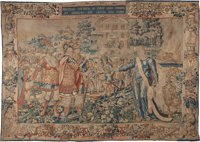A Brussels Historical Tapestry from a Series of the Trojan War, Workshop of Jacob Geubels, late 16th century 109 i
