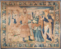 Rugs & Textiles:Tapestries, A Monumental French Tapestry of Noblemen, early 18th century. 104inches high x 123 inches wide (264.2 x 312.4 cm). PROPER...