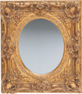 Decorative Arts, Continental:Other , A Pair of Continental Carved Giltwood Mirror Frames, late 19thcentury. 37 inches high x 33 inches wide (94.0 x 83.8 cm). ...(Total: 2 Items)