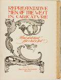 Books:Americana & American History, [B. S. White]. LIMITED. Representative Men of the West inCaricature. Press of the American Cartoonist Magazine,...