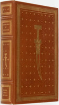 Books:Fine Bindings & Library Sets, Leon Uris. SIGNED. The Haj. Franklin Center: The Franklin Library, 1984....