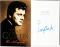 Books:Biography & Memoir, Tony Curtis. SIGNED. Barry Paris, co-author. Tony Curtis: TheAutobiography. New York: William Morrow and Compan...