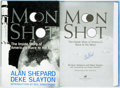 Books:Science & Technology, Alan Shepard. SIGNED. Deke Slayton, co-author. Moon Shot: The Inside Story of America's Race to the Moon. Atlant...