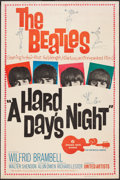 "Movie Posters:Rock and Roll, A Hard Day's Night (United Artists, 1964). Poster (40"" X 60""). Rockand Roll.. ..."