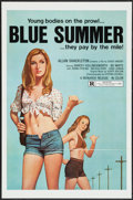 "Movie Posters:Sexploitation, Blue Summer & Others Lot (Monarch, 1973). One Sheets (100) (27""X 41""). Sexploitation.. ... (Total: 100 Item)"