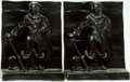 Books:Furniture & Accessories, [Bookends]. Pair of Matching Pirate Bookends. Unsigned, circa 1928.... (Total: 2 Items)