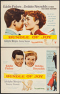 "Movie Posters:Comedy, Bundle of Joy (RKO, 1957). Half Sheets (2) (22"" X 28"") Style A & B. Comedy.. ... (Total: 2 Items)"