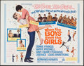 """Movie Posters:Musical, When the Boys Meet the Girls (MGM, 1965). Half Sheet (22"""" X 28""""). Musical.. ..."""