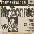 """Music Memorabilia:Recordings, Beatles - Tony Sheridan & The Beat Brothers """"My Bonnie / The Saints"""" German 45 with Picture Sleeve (Polydor NH 24 673, 1962)...."""