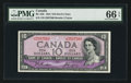 Canadian Currency: , BC-32b $10 1954 Devil's Face. ...