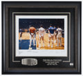 Basketball Collectibles:Photos, 1968 NBA All Star Game Multi Signed Oversized Photograph....