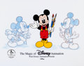 Animation Art:Limited Edition Cel, The Magic of Disney Animation Limited Edition Cel (WaltDisney, 1996)....
