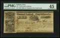 Obsoletes By State:Indiana, Peru, IN - State of Indiana Canal Land Certificate $10 Apr. 28, 1841. ...