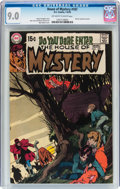 Bronze Age (1970-1979):Horror, House of Mystery #187 (DC, 1970) CGC VF/NM 9.0 Off-white to whitepages....