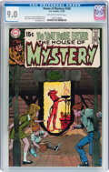 Bronze Age (1970-1979):Horror, House of Mystery #184 (DC, 1970) CGC VF/NM 9.0 Off-white to white pages....